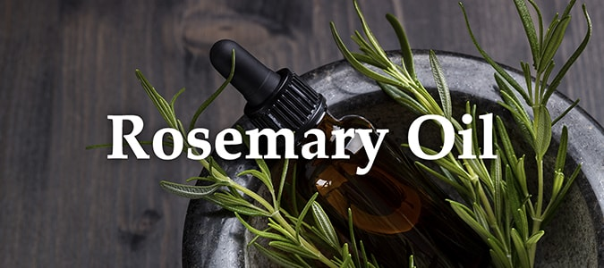 Essential Oil Headers Rosemary Oil