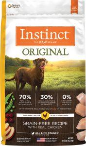 Instinct Original Grain-Free Recipe with Real Chicken Freeze-Dried Raw