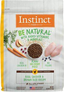Natural Real Chicken & Brown Rice Formula