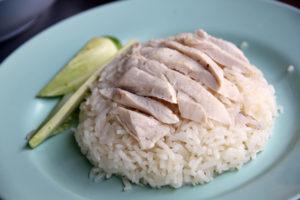 feeding my dog rice and chicken